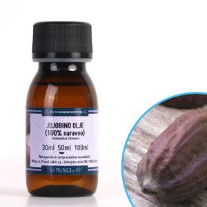 Hladno stiskano naravno jojobino olje Milnica.si