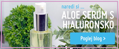 Aloe serum s hialuronsko kislino