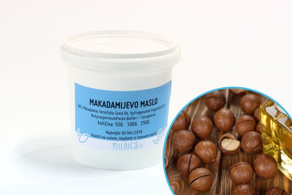 Makadamijevo maslo naravno