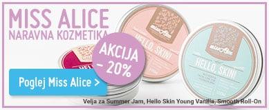 Naravna kozmetika Miss Alice lovemade cosmetics