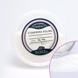 Stearinska kislina za naravno kozmetiko Milnica