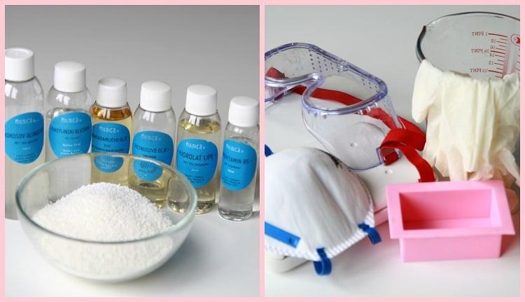 1 korak priprava sestavin_izdelava šampona