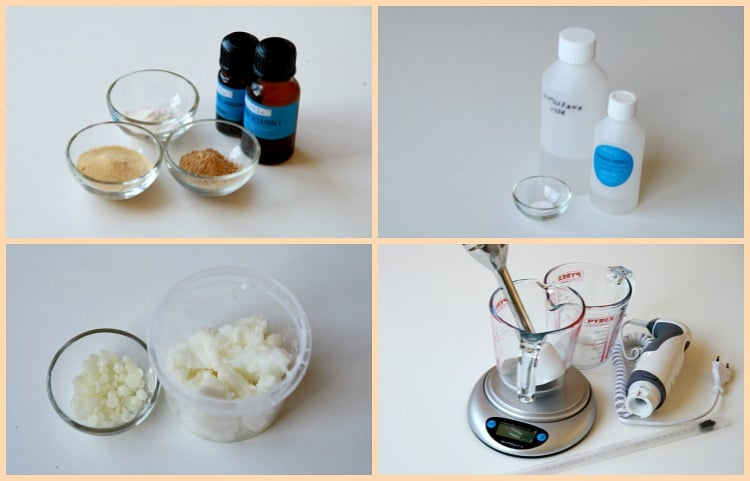 1 korak priprava sestavin marelična maska
