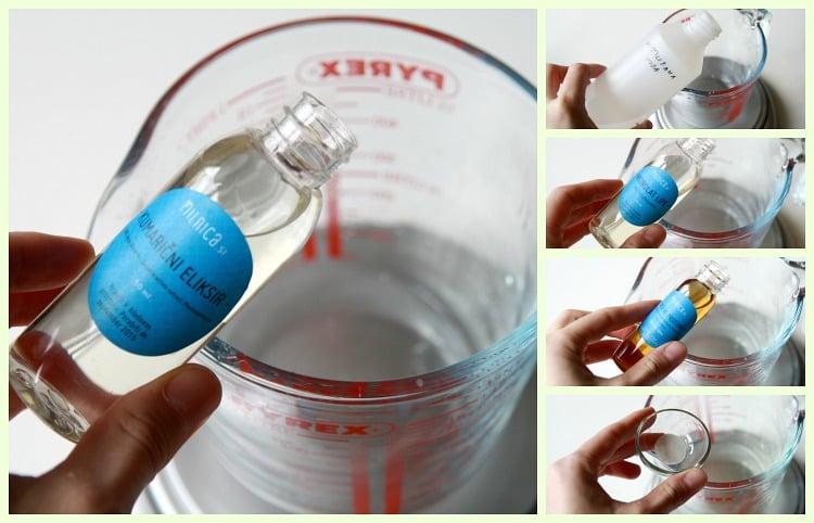 2 korak vodna faza kumarična krema