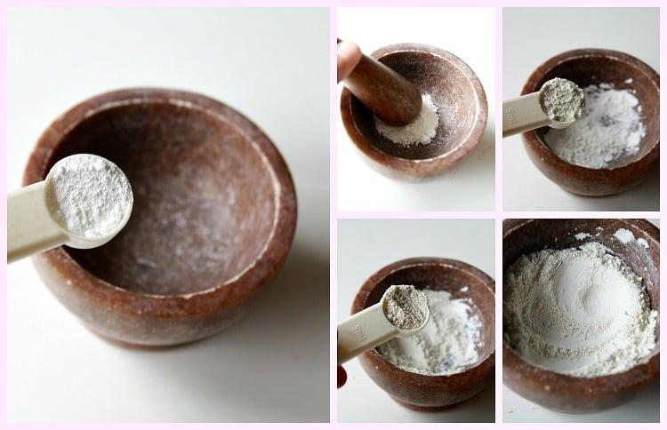 2 korak priprava osnove_puder v kamnu mineralni