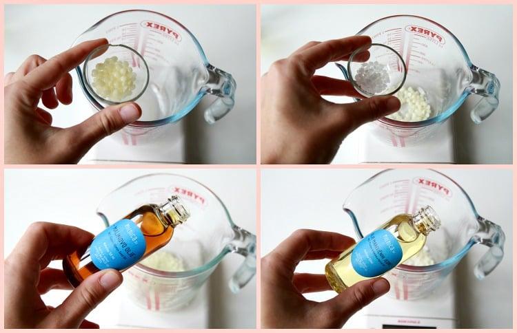 3 korak-oljna faza_izdelava malinove kreme za obraz