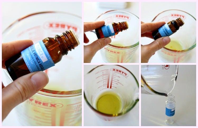 zadnji korak negovalno olje za obraz