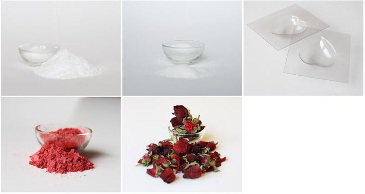 Valentinovo darilo v 5. minutah: kopalkne kroglice v obliki srčkov!
