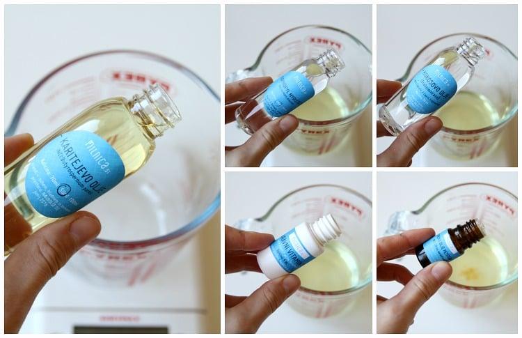 2 korak karitejevo olje za telo