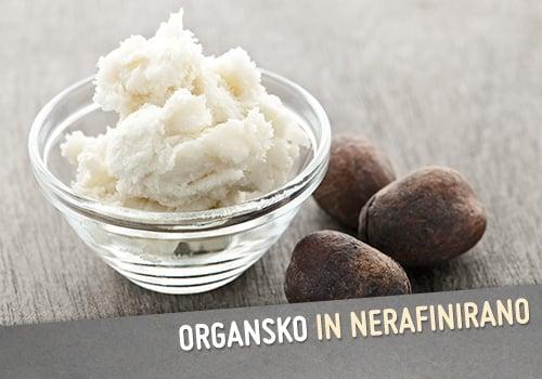 Organsko nerafinirano karite maslo Milnica