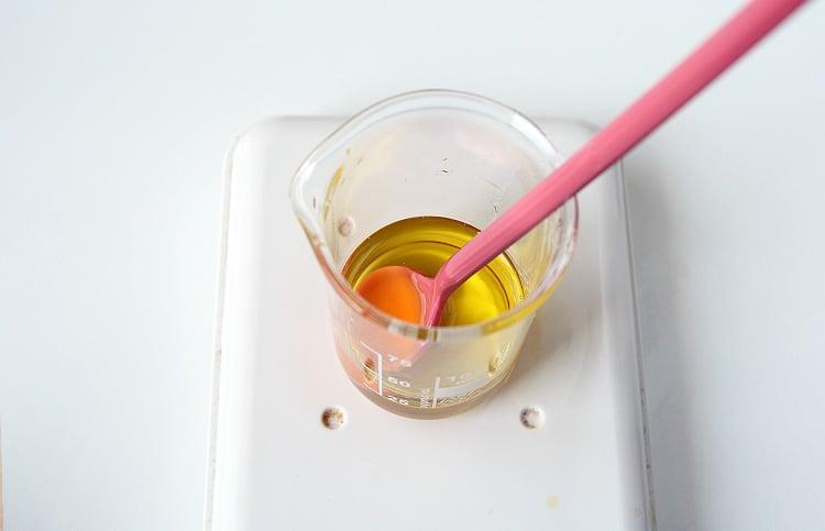 3 korak olje za lase