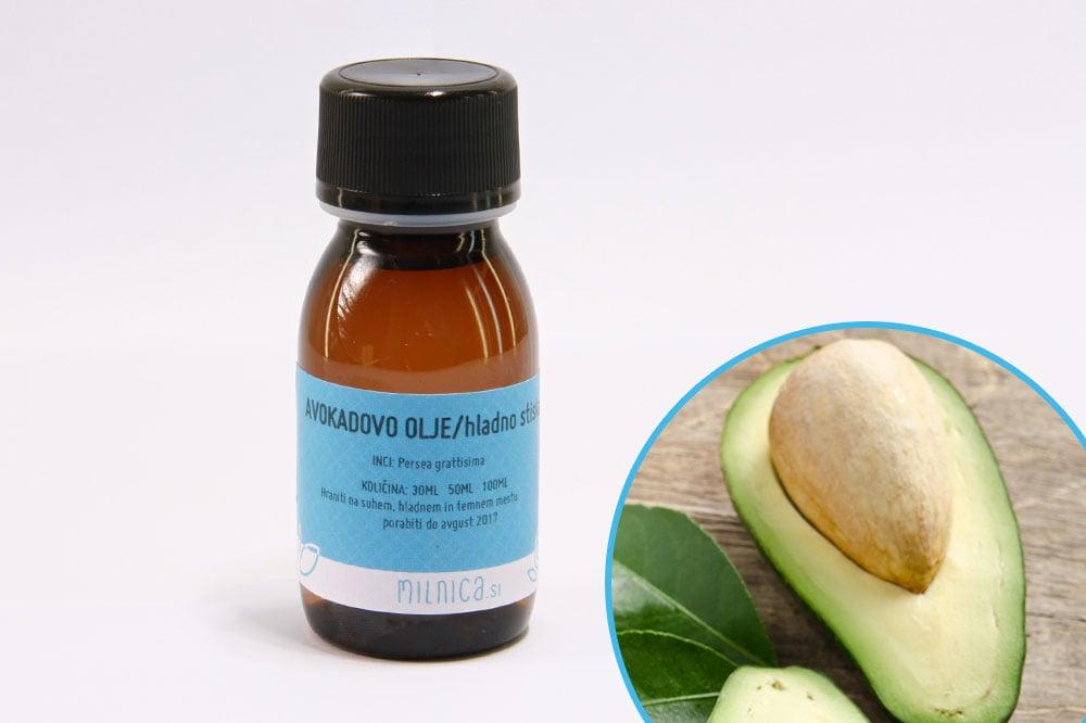 Hladno stiskano avokadovo olje