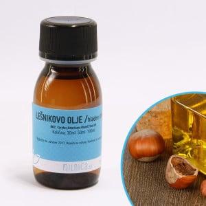 Hladno stiskano lešnikovo olje