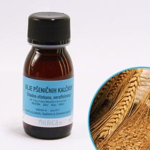 Hladno stiskano olje pšeničnih kalčkov, nerafinirano