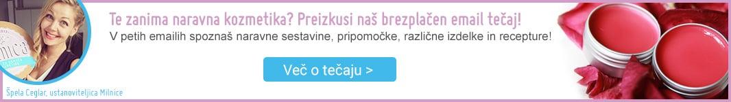 Tečaj naravne kozmetike Milnica.si