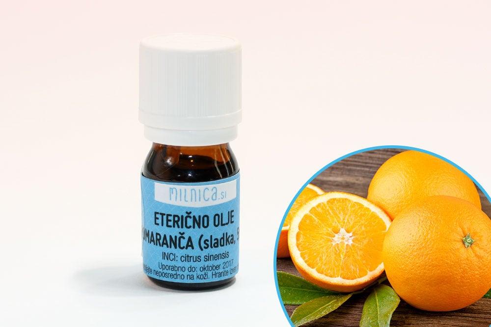 Eterično olje pomaranče sladke
