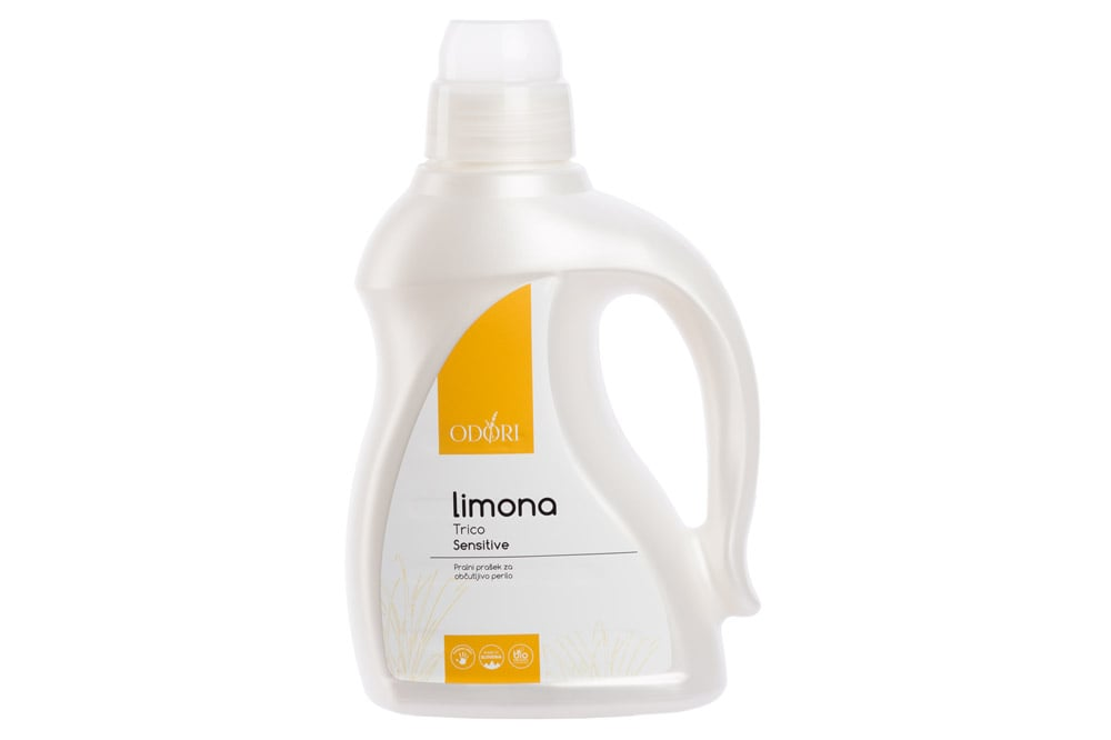 Naravni pralni prašek Trico Sensitive limona Odori