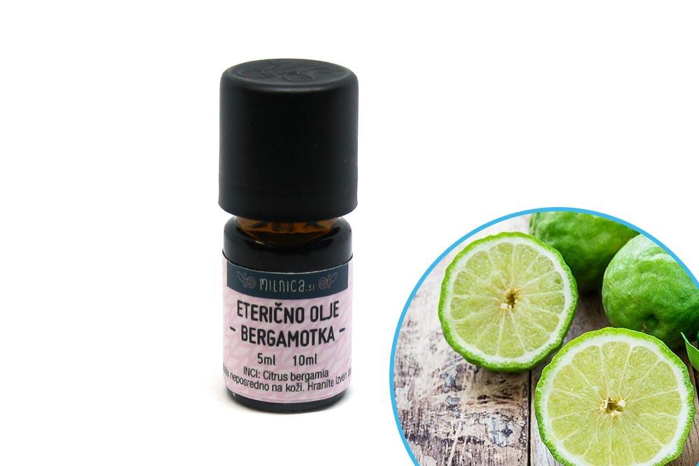 100% naravno eterično olje bergamotke Milnica