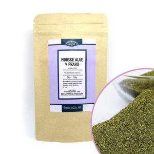 Morske alge v prahu (seaweed kelp) Milnica