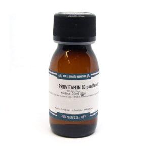 Provitamin B5 d pantenol