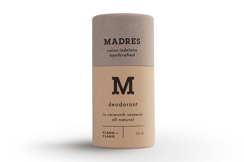 Naravni deodorant Ylang Ylang Madres
