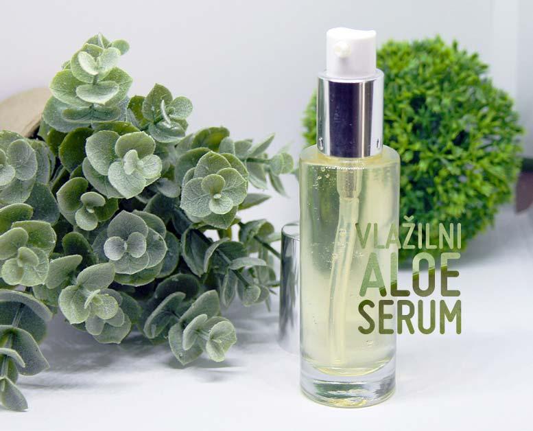 Naredi si vlažilni aloe serum s hialuronsko kislino