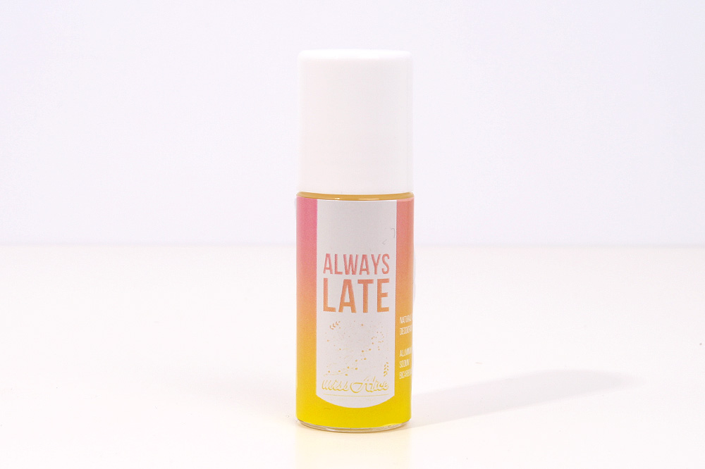 Naravni deodorant Miss Alice - Always Late