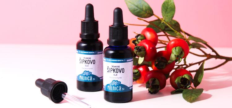100% naravno organsko šipkovo olje